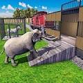野生动物卡车运输:动物火车司机1.0