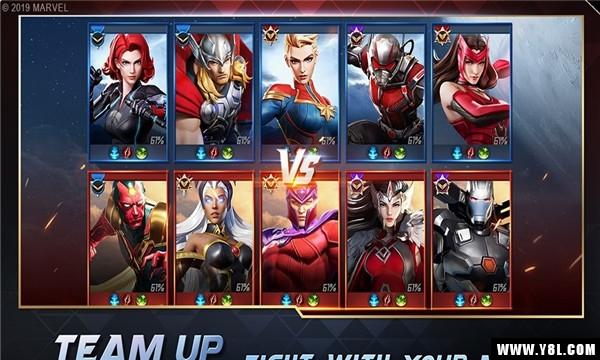 网易漫威超级战争游戏