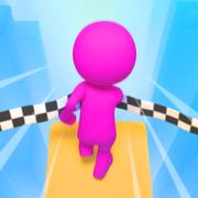 FallRace3D下坠赛跑3D安卓版v1.0