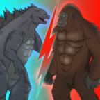 哥斯拉vs金刚游戏无限金币版v7修改版